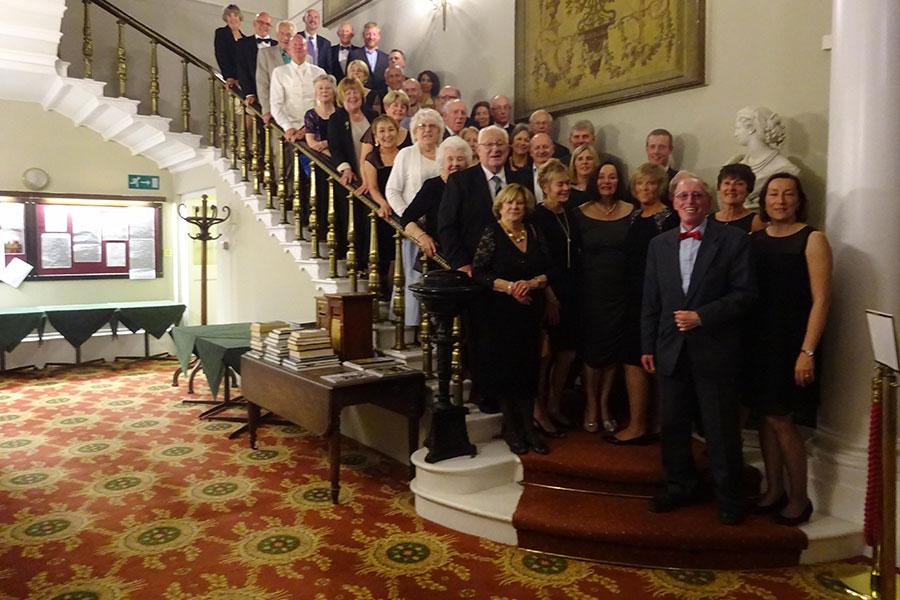 Chislehurst LTC 40th anniversary dinner